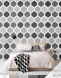 honeycomb self adhesive vinyl wallpaper peel and stick wallpaper
