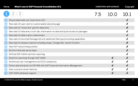 what u0027s new in sap financial consolidation 10 1 sap blogs