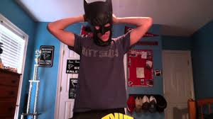 rubies over the head latex batman mask review youtube