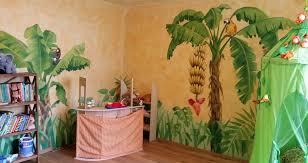 dschungel kinderzimmer kinderzimmer malereien mit wunschmotiven für ihre kleinen und großen