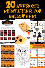 20 free halloween printables for family fun activities