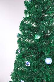 x tree green ornaments