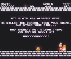 Ric Flair Memes - ric flair was here super mario know your meme