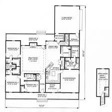 unique single story house plans home deco plans
