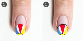 summer nails playful beach nail design more com