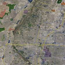 albuquerque aerial wall mural landiscor real estate mapping 2017 albuquerque wall map mural standard mini print scale 48 w x 52