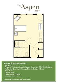 assisted living facility floor plans in arizona