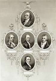 Cabinet Officers Jefferson And Hamilton Political Rivals George Washington U0027s