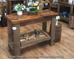 rustic kitchen islands and carts kitchen island etsy