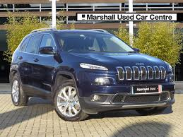 blue jeep grand cherokee 2016 used jeep cherokee cars for sale motors co uk
