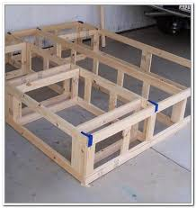 Platform Bed With Storage Plans by Full Size Platform Bed With Storage Build This Article Platform