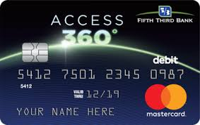 prepaid credit card access 360 reloadable prepaid debit card fifth third bank