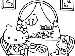 kitty downloads coloring pages 2 kitty coloring