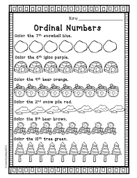 teaching ordinal numbers ordinal numbers worksheets and math