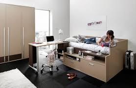 chambre ado gautier lit ado avec rangements et bureau gautier dimix