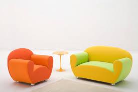 divanetti design divano design originale in tessuto 2 posti rosso l