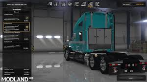 kenworth t680 parts list kenworth t680 edit mod for american truck simulator ats