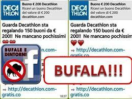 decathlon si e decathlon regala bufala bufale e dintorni