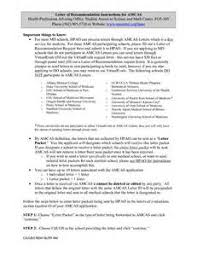 amcas letter of recommendation best template collection