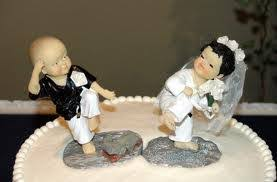 karate cake topper karate wedding cake toppers the wedding specialiststhe wedding
