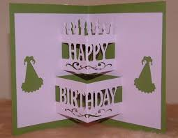 pop out birthday cards birthday cake pop up studio on craftsuprint designed by carr