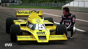 renault f1 renault rs01 f1 exclusive drive evo youtube