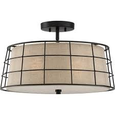 Drum Pendant Textured Wire Cage Convertible Drum Pendant Shades Of Light