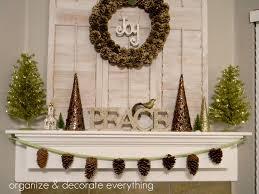 pinecone garland pinecone garland organize and decorate everything