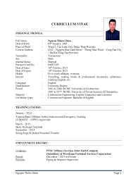 Sample Resume For Construction Site Supervisor by Nguyen Thien Chien Piping U0026 Structure Supervisor Resume
