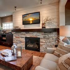 45 modern family room with beautiful stone and shiplap fireplace 45 modern family room with beautiful stone and shiplap fireplace design ideas