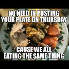 thanksgiving plate quotes no need in posting your plate on