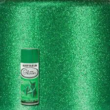 rust oleum specialty 10 25 oz kelly green glitter spray paint