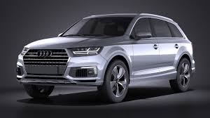 Audi Q7 2017 - audi q7 e tron 2017 vray squir