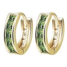 s earring prices qiamni beautiful fashion jewelry pave princess cut multicolor