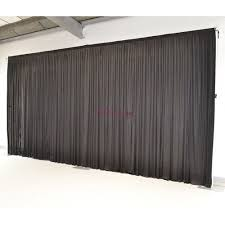 wedding backdrop curtains for sale 6mx3m pleated black wedding backdrop curtain for sale