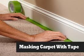 masking carpet on stairs before painting walls masking carpet