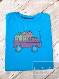 pumpkins in wagon sketch embroidery design pumpkins embroidery