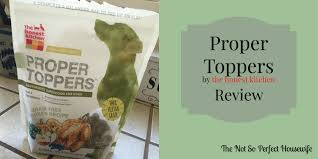 Honest Kitchen Dog Food Reviews by The Honest Kitchen Proper Toppers Review Youtube