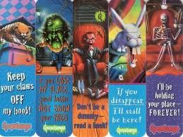 printable goosebumps bookmarks goosebumps bookmarks r l stine pinterest