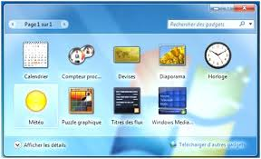 horloge bureau windows 7 horloge sur bureau 12 avec comment la m t o windows 7