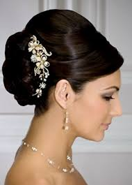 bridal hair bun trendy wedding hairstyles 2017 2018bride s classic sleek updo