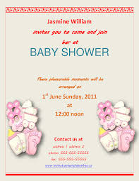 free baby shower invitation templates for word free printable