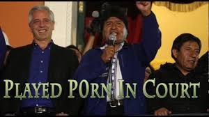 evo morales bolivian president evo morales accidentally played in court