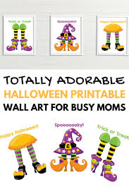 totally adorable halloween printable wall art for busy moms this