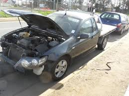 2010 fg xr6 ute w alloy tray athol park ford wreckers