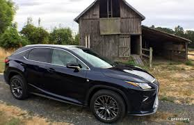first lexus made the 2016 lexus rx 350 f sport first drive u2022 geardiary