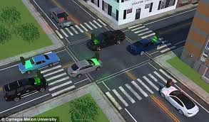 do traffic lights have sensors smart personalised windshield displays could slash stop signs by 60