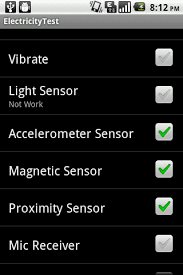 magnetometer android micromax a70 has a magnetometer and ambient light sensor for sure