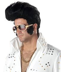 amazon com california costumes men u0027s rock n u0027 roll wig black one