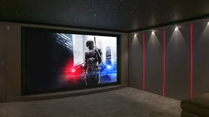 Home Cinema Decorating Ideas by Garage Conversion Home Cinema London Finite Solutions Installation